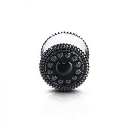 """""""Oh, Oh! Oreo"""" Charm Sandwich Biscotto In Argento Sterling"""