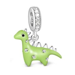 Dinosauro Charm In Argento Sterling